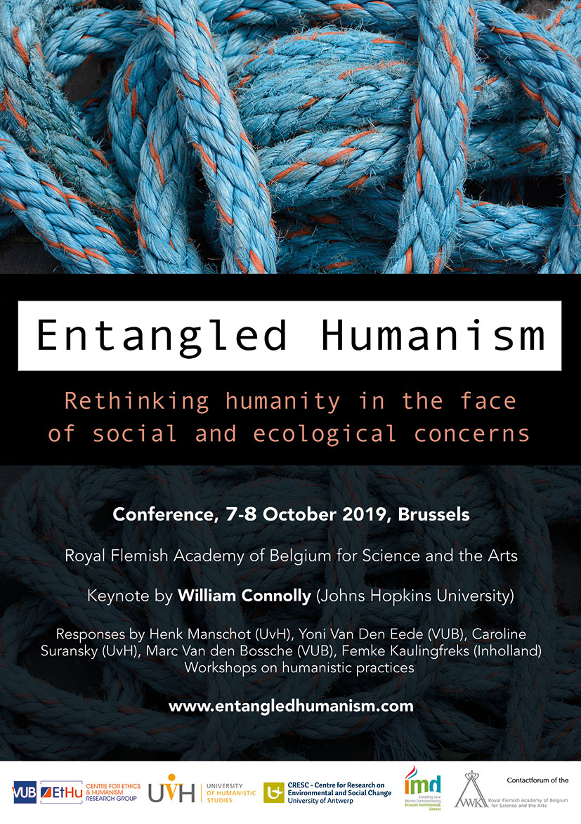 Entangled Humanism flyer